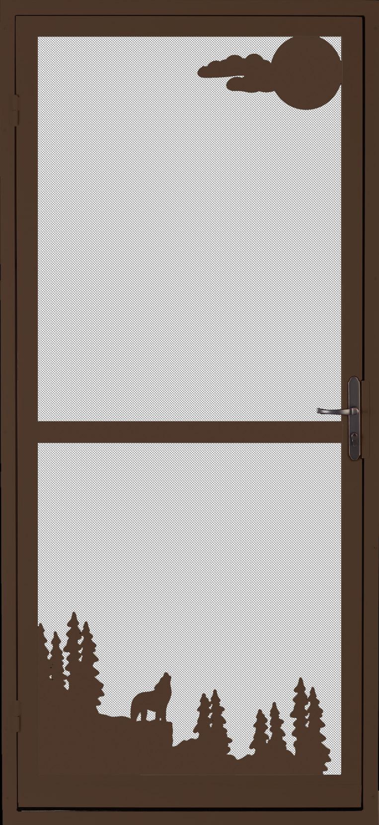 Prescott Security Screen Door Custom Designed And Installed